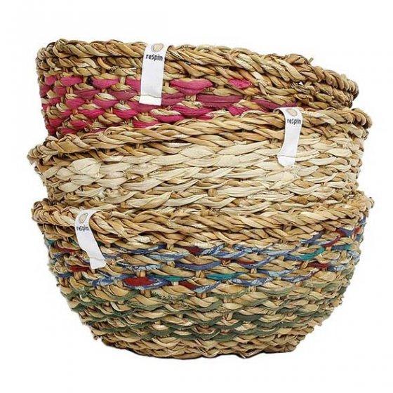 ReSpiin Sari & Seagrass Single Bowl