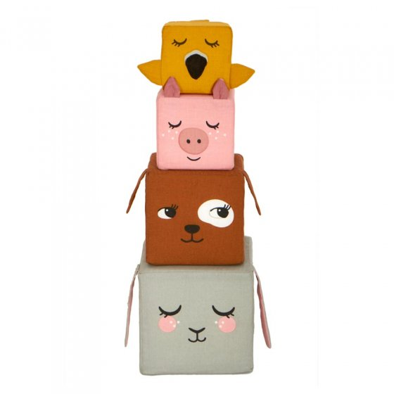 Roommate Country Life Stacking Blocks