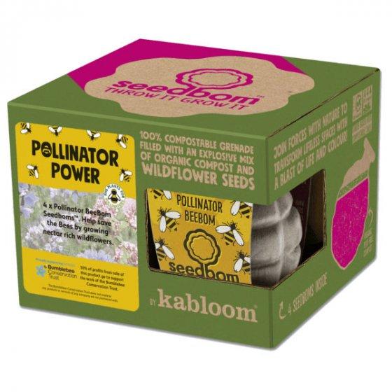 Kabloom Pollinator Power 4 Pack Gift Box