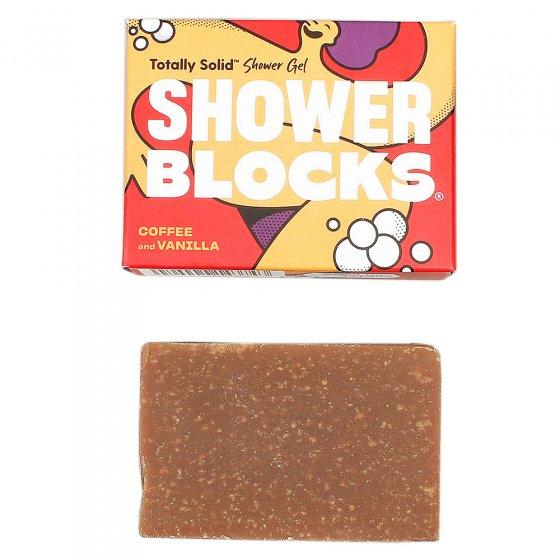 Shower Blocks Gel Bar - Coffee & Vanilla