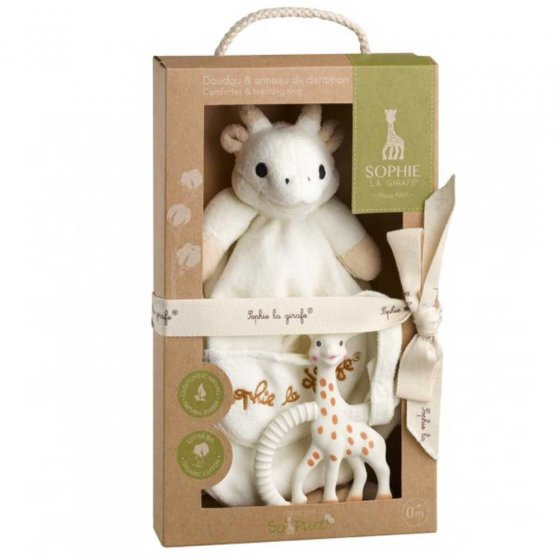 Sophie The Giraffe - So Pure Comforter and Teether Set