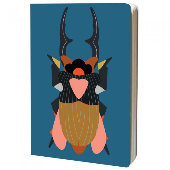 Studio Roof A4 Giant Stag Beetle Sketch Book