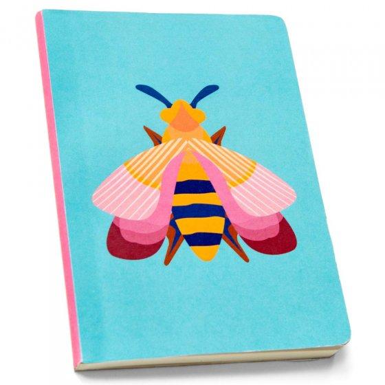 Studio Roof Pink Bee A6 Notebook