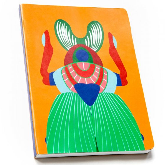 Studio Roof Giant Scarab Beetle A5 Notebook