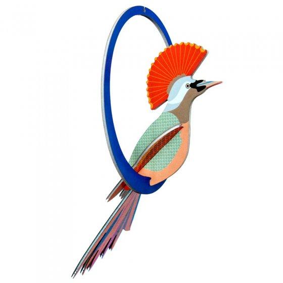 Studio Roof Paradise Birds Swinging Crowned Obi