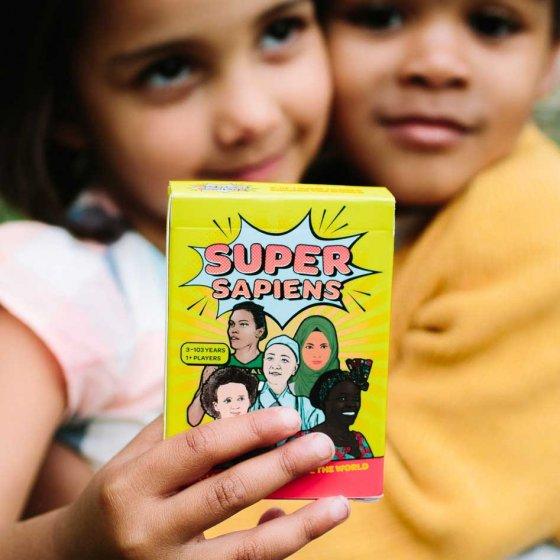 Super Sapiens - 3 in 1 Card Game