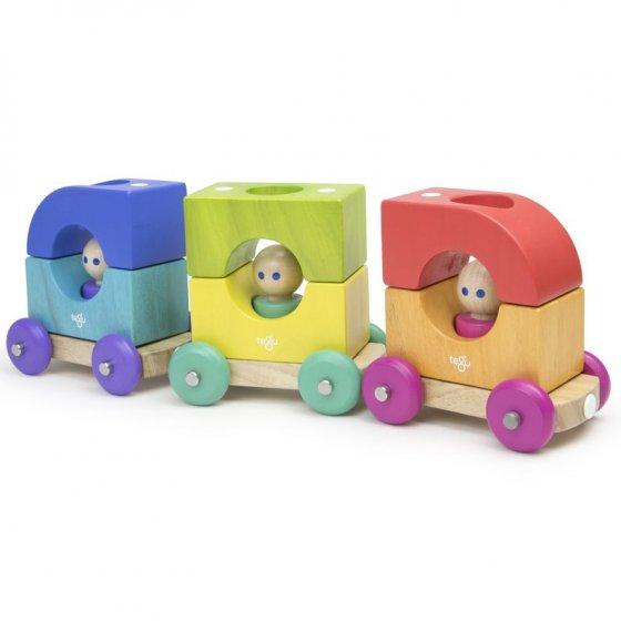 Tegu Rainbow Magnetic Tram