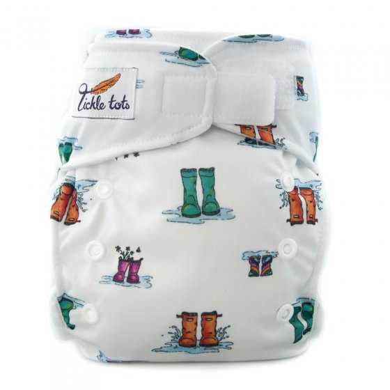Tickle Tots Hybrid Nappy - Wellies