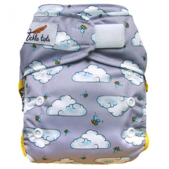 Tickle Tots AIO Nappy - Busy Bees