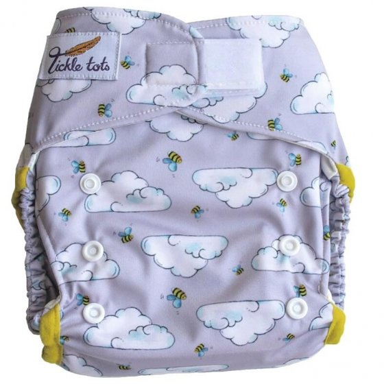 Tickle Tots Hybrid Nappy-Busy Bees