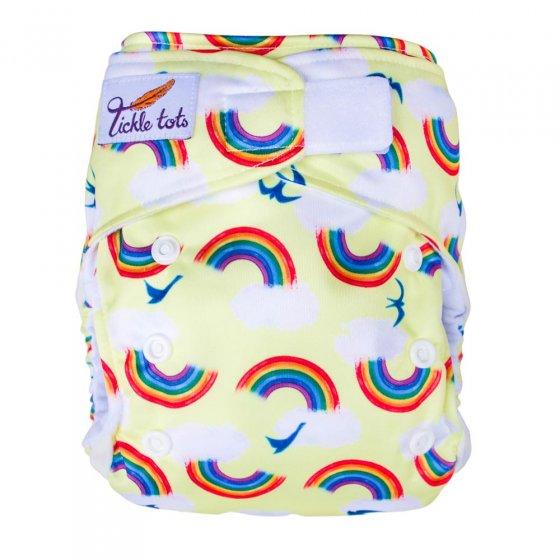 Tickle Tots AIO Nappy - Rainbows