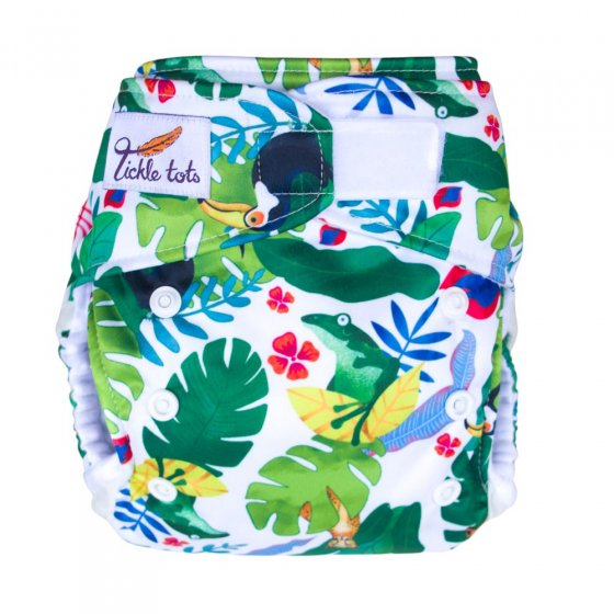 Tickle Tots AIO Nappy - Rainforest