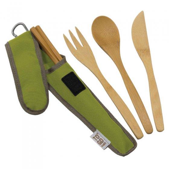 To Go Ware Avocado Bamboo Utensil Set