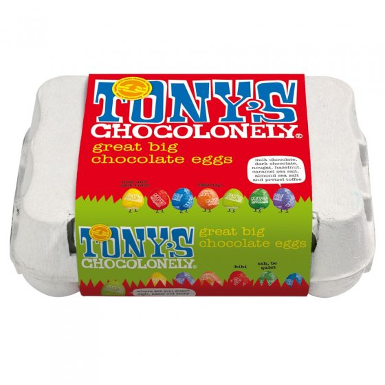 Tony's Chocolonely Assorted Eggs