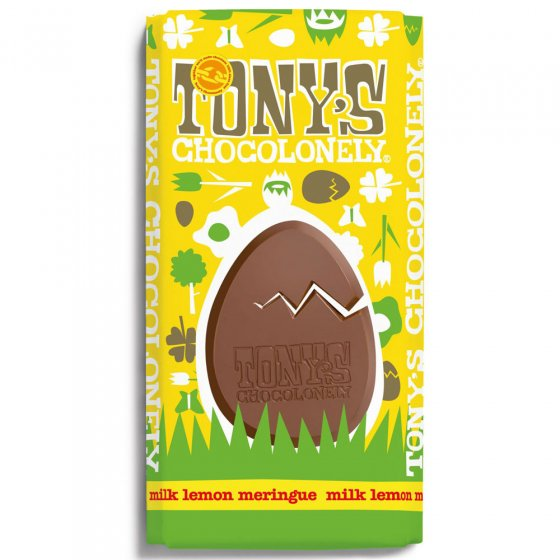 Tony's Chocolonely Lemon Meringue Milk Chocolate 180g