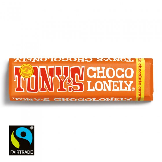 Milk Caramel Sea Salt Tony's Fairtrade Chocolate 47g