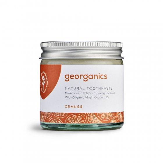 Georganics Natural Toothpaste - Orange 60ml