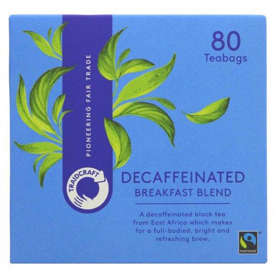 Traidcraft Breakfast Blend Decaff Tea Bags