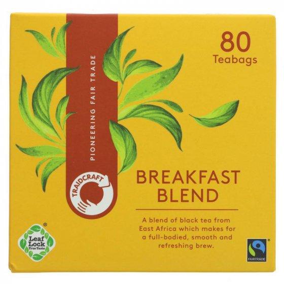 Traidcraft Breakfast Blend Tea Bags