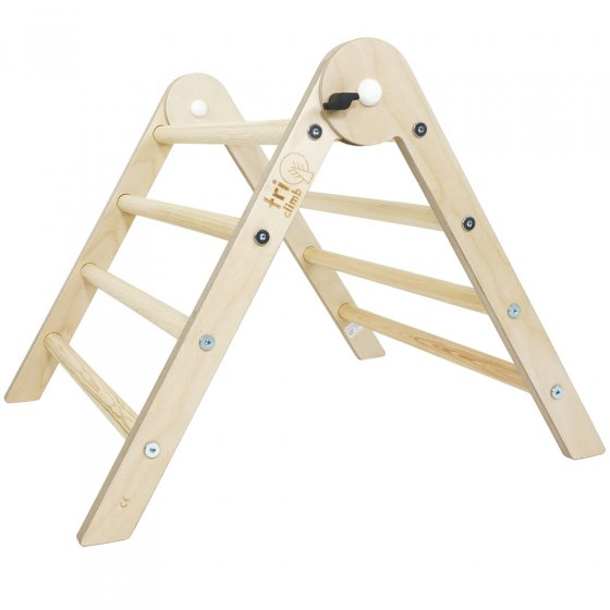 Triclimb Pwt small wooden childrens climbing pikler style triangle