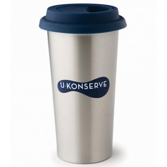 U-Konserve Insulated Coffee Cup 450ml - Navy