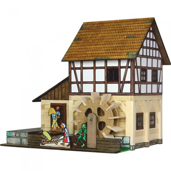 Walachia Timbered Watermill Hobby Kit