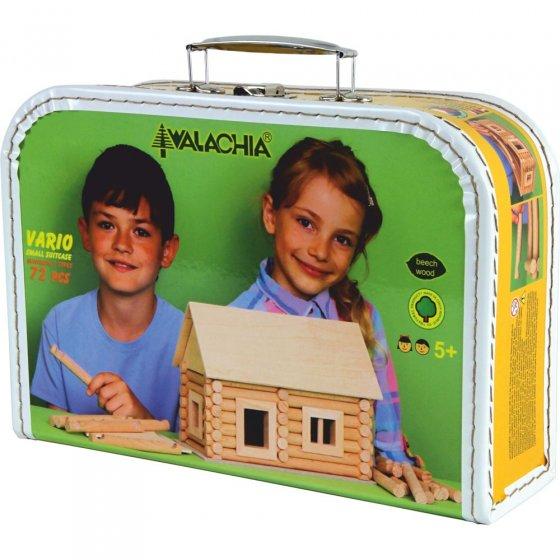 Walachia Vario Suitcase Wooden Building Set 72 Pieces