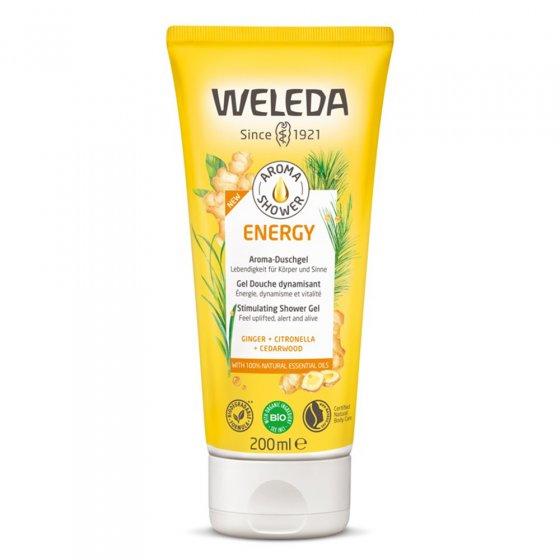 Weleda Energy Stimulating Shower Gel on a white background