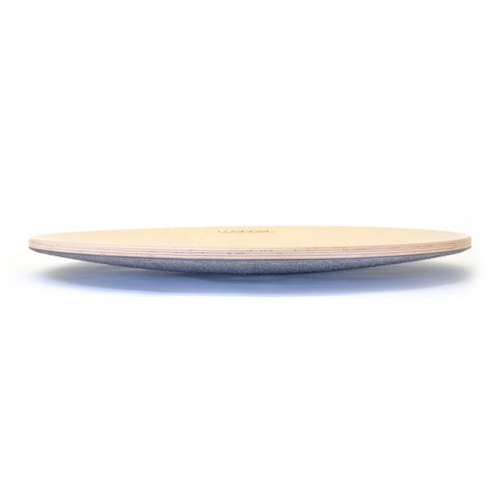 Wobbel 360 Balance Board with Felt on a white background