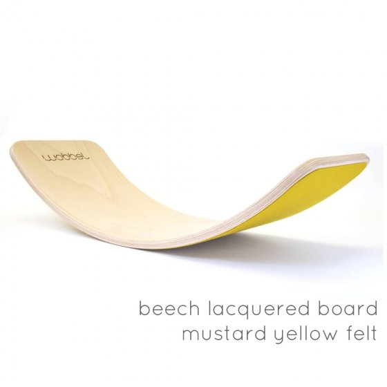 Wobbel Boards Beech Wood with Felt