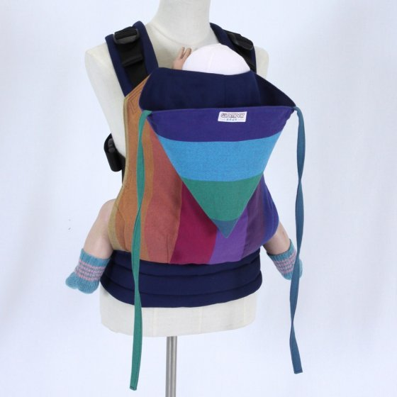 Wompat Medium Baby Carrier - Vanamo Rainbow Purple