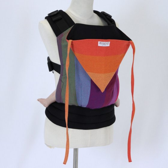 Wompat Baby Carrier - Vanamo Rainbow Red