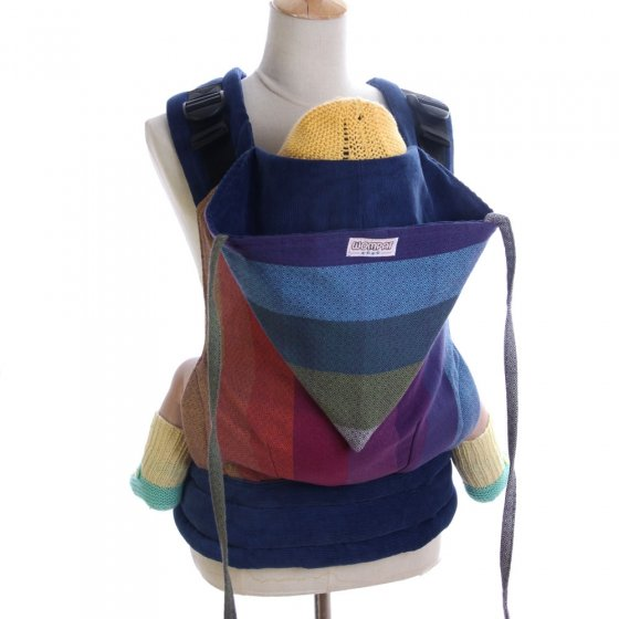 Wompat Baby Carrier - Girasol Northern Lights Rainbow Diamond