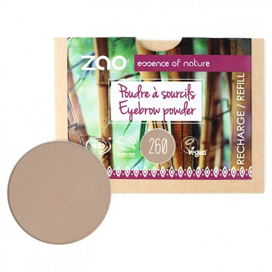 Zao Bamboo Eyebrow Powder Refill