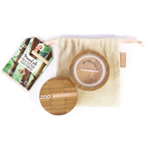 Zao Refillable Bamboo Mineral Silk