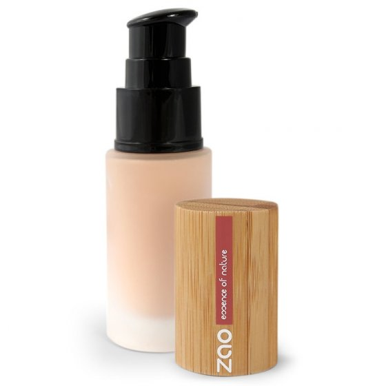Zao Refillable Silk Foundation Pump