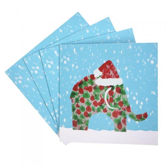Zee's Babipur Christmas Card 4 pack