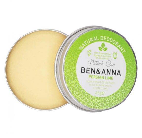 Ben & Anna Soda Cream Deodorant Tin Lime