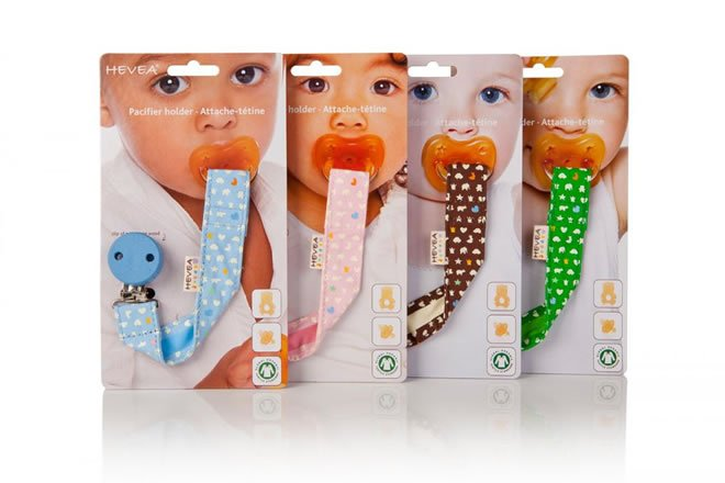 Hevea Pacifier / Dummy or Toy Holder