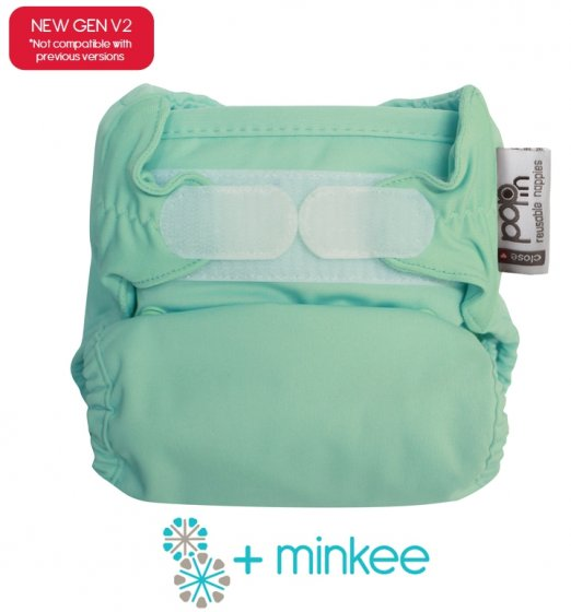 Pop-in Minkee Nappies - White
