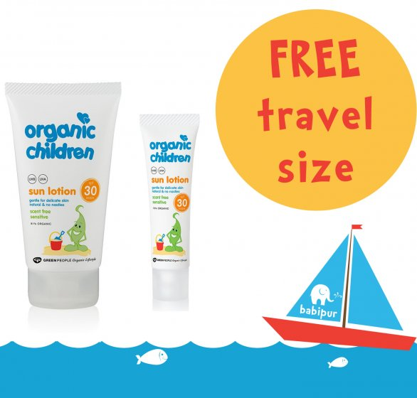 150ml Sun Lotion with Free 30ml