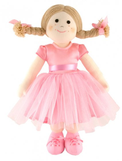 Fair Trade Rag Doll - Ballerina