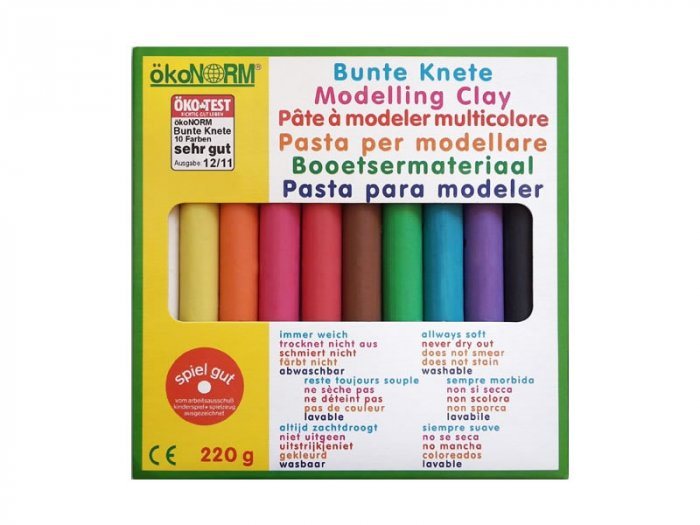 OkoNorm Modelling Clay – 10 Colours