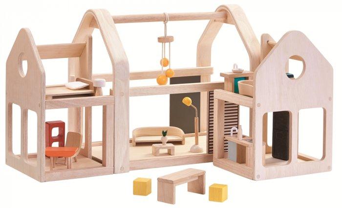 Plan Toys Slide N Go Dolls' House