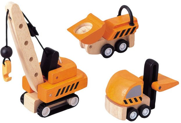 Plan Toys Construction Vehicles PlanWorld