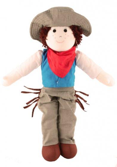 Fair Trade Rag Doll - Cowboy