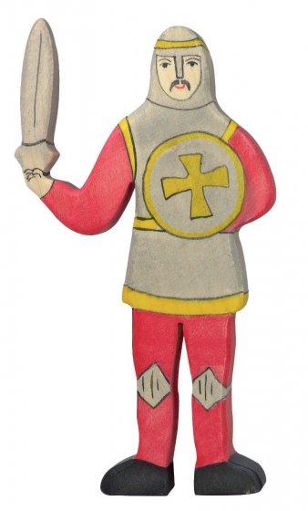 Holztiger Red Fighting Knight