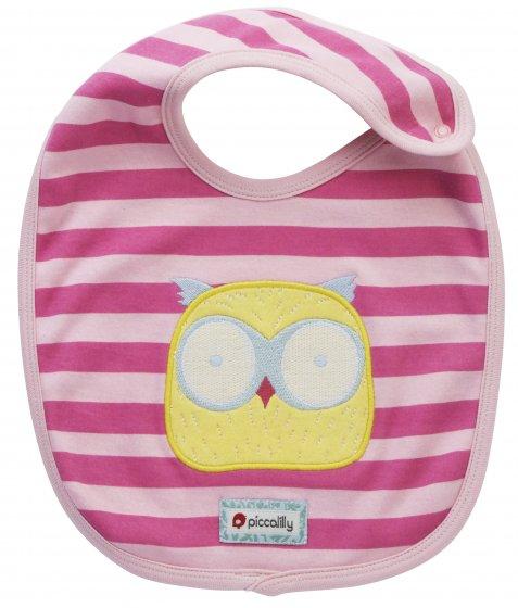 Piccalilly Owl Bib
