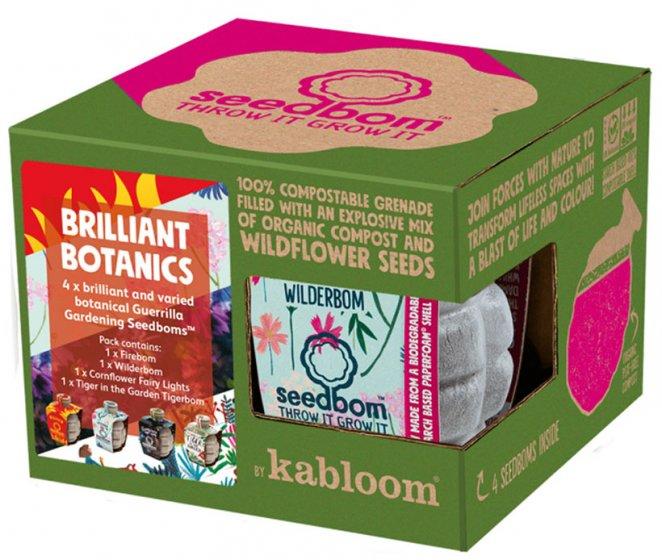 Kabloom Brilliant Botanics Seedbom Gift Box