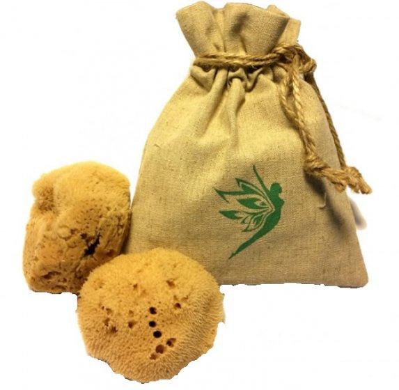 Natural Intimacy Menstrual Sea Sponges x2 & Bag